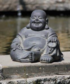 Happy-Boeddha-Lachende-Boeddha-26-centimeter-zwart